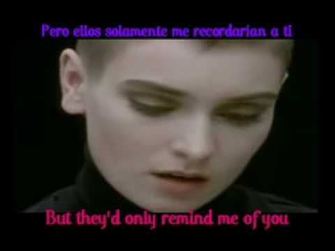 Sinead O'connor - nothing compares to you (subtitulos ingles-español)