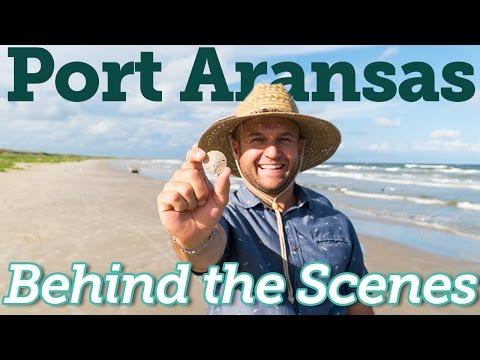 Behind the Scenes - Port Aransas, TX - The Daytripper