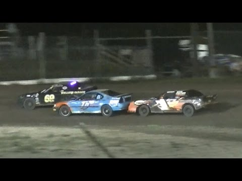 Mini Stock Feature | Genesee Speedway | 9-3-16
