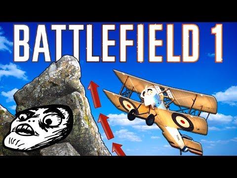 ROCKS AHEAD !!  - TINY GUN - Battlefield 1 Funny Moments