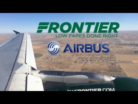 FULL FLIGHT: Frontier Airlines | Dallas (DFW) to Denver (DEN) | A319 | F9 125 | Economy