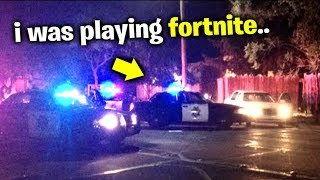 i Got Arrested For Playing Fortnite..