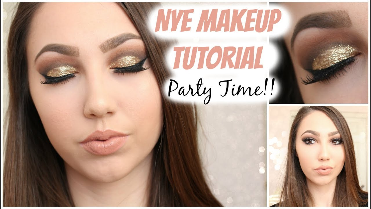 New years eve party formal makeup tutorial ft wet n wild new years eve party formal makeup tutorial ft wet n wild color icon glitter brass youtube baditri Gallery