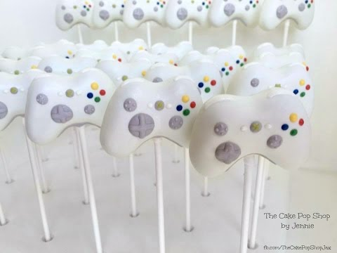 Xbox 360 Controller Cake Pops (periscope) Part 1