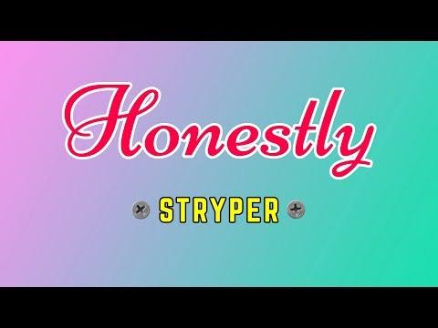 Honestly - STRYPER Karaoke HD