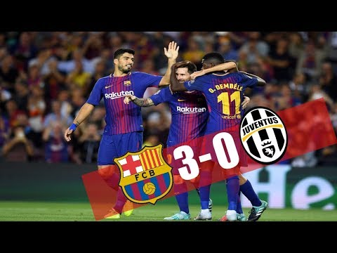 FC Barcelona vs Juventus 3-0 Goals and Highlights with English Commentary (UCL) 2017-18 HD 720p