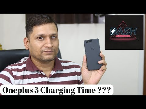 The OnePlus 5 Charging Time and DASH Charge cycle | Not a normal Video