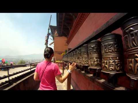Kathmandu Nepal 2014 - City Tour - 720p