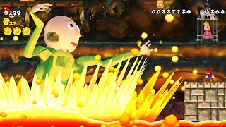 Baldi is the final boss in a Mario game?