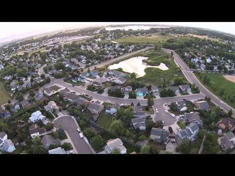 Fort Collins Colorado Drone