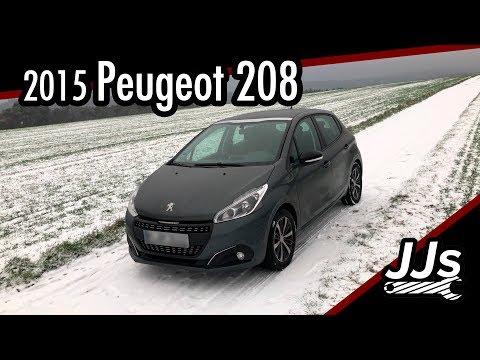 Test/Review 2015 Peugeot 208 PureTech 82 5-Türer //JJsGarage