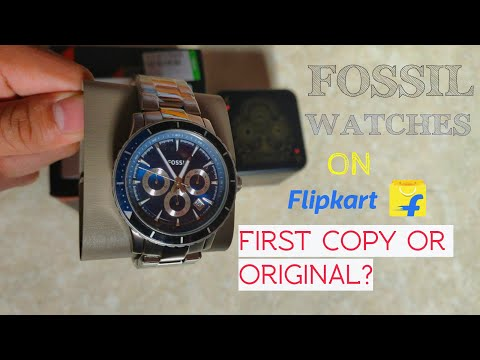 First Copy Fossil Watches On Flipkart?