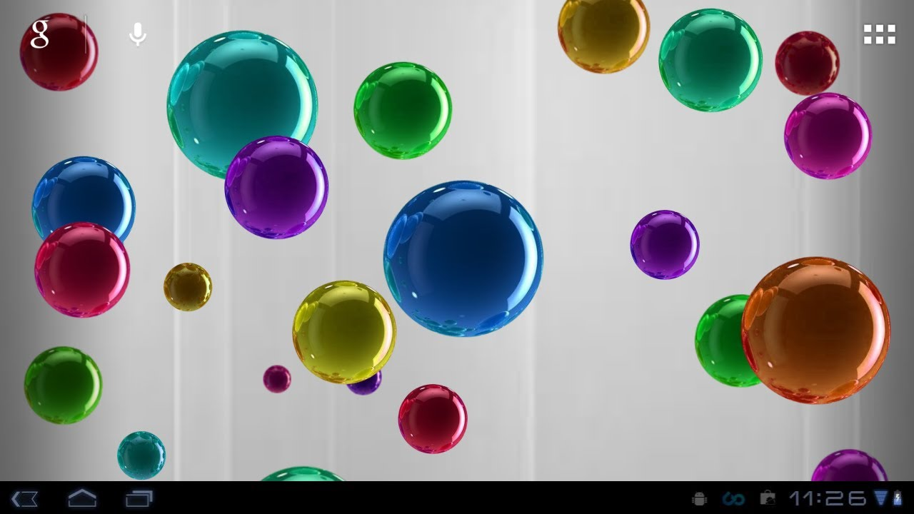 Bubble Live Wallpaper - YouTube