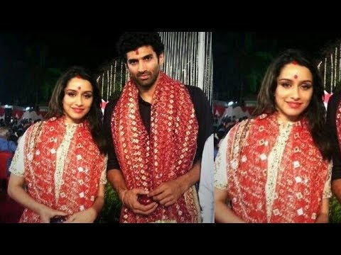 Shraddha Kapoor gets married to Aditya Roy Kapoor in real life Aasiqui 2 couple ❤