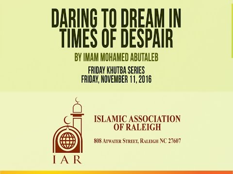Daring to Dream in Times of Despair