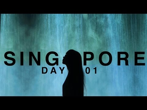 Singapore Day 01 ● My Dad's Missing + Art & Science Museum