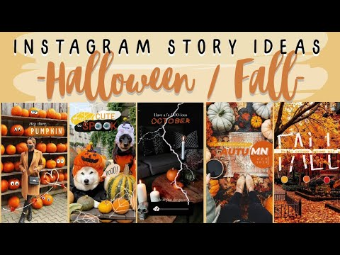 Halloween Fall Instagram Story Ideas Android Friendly Youtube