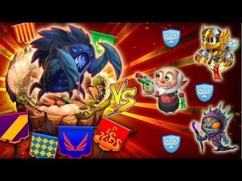 Monster Legends - Titan Invasion Island Ixofex level 115 Sneak Peek Review combat