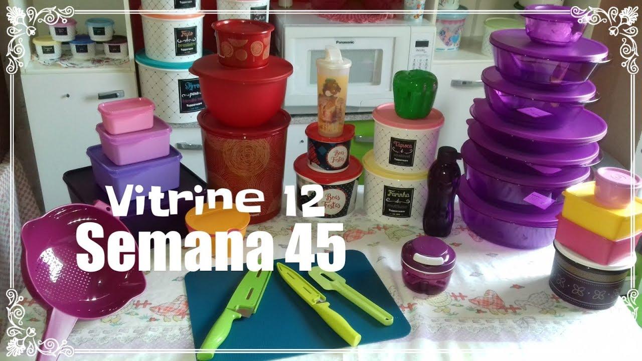 Abrindo Caixa Tupperware Semana 45 Vitrine 12 Youtube