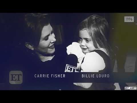 carrie fisher + billie lourd | i was made for loving you