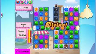 Candy Crush Saga Level 2732 20 moves NO BOOSTERS Cookie