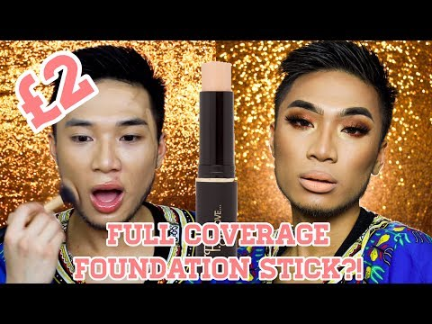 £2 Full Coverage Foundation Stick First Impression ▷ Marc Zapanta