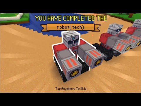 Block Craft 3D : Building Simulator Games For Free Gameplay#371(iOS & Android)| Robot (tech)