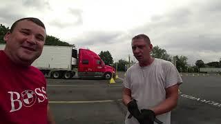 Самый ленивый дальнобойщик в США MIKHAIL VK