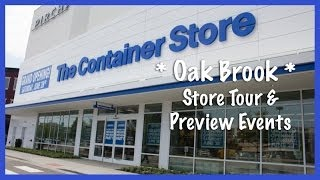 The Container Store, Oak Brook: Store Tour & Preview Events Thumbnail