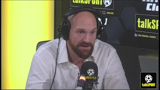 """There's two characters to Tyson Fury"" - The Gypsy King joins Sports Breakfast!"