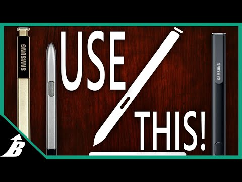 Why You Should Be Using Your S Pen (Or get a Note 8)