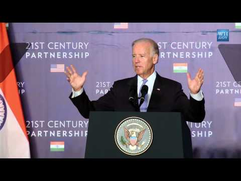 Remarks By Vice President Biden on U.S. - India Partnership