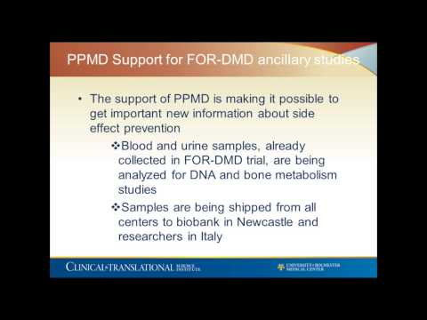 FOR-DMD Study Webinar (April 2015)