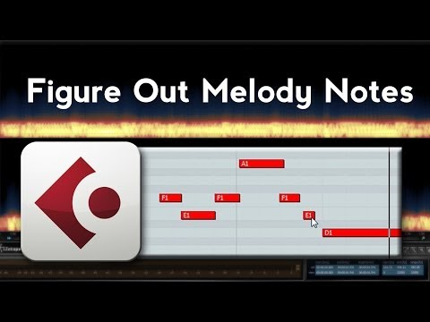 How to Figure Out the Melody of a Song (Cubase)