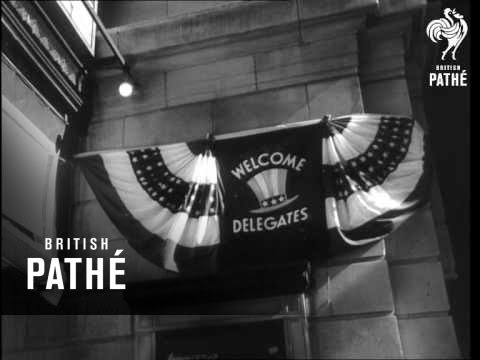 Preparing For The Republican Party Convention (1960)