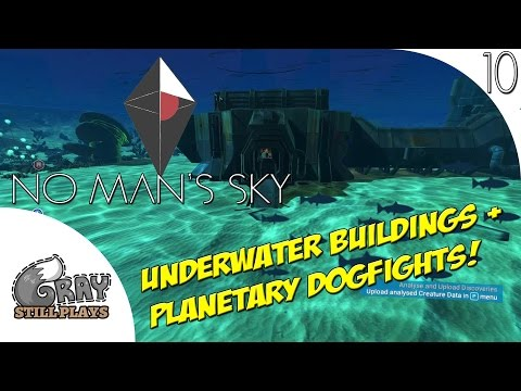 No Man's Sky PC | Underwater Building Exploration and Planetside Dogfights! | Part 10 | Gameplay