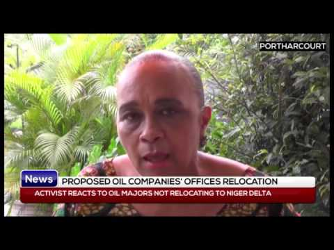 Activist reacts to oil majors not relocating to Niger Delta