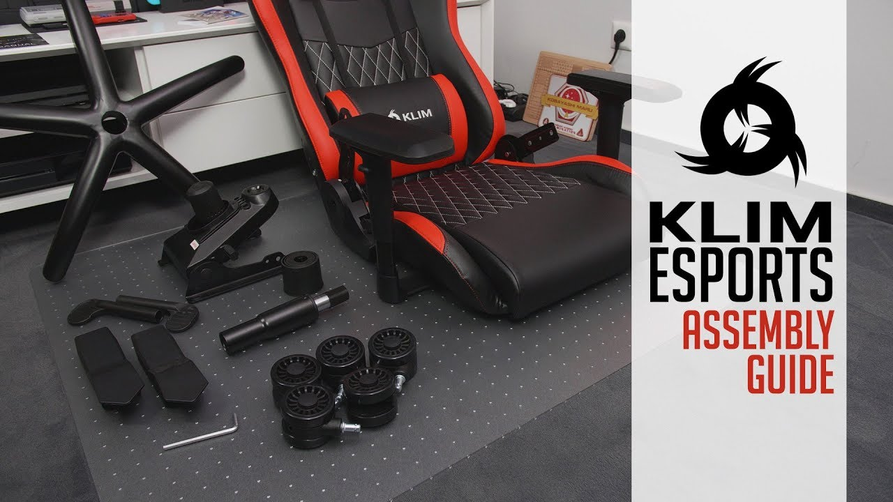 video KLIM Esports Gaming Chair