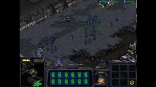 StarCraft - Terran mission #10 :THE HAMMER FALLS