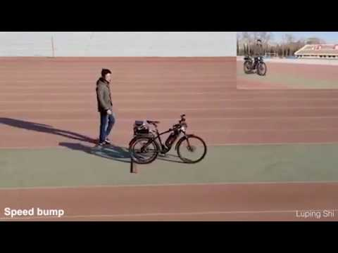 Беспилотный Ai-велосипед сам объезжает препятствия