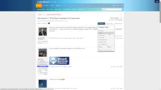 WindowsForum.com - Forum Updates for August 8, 2014