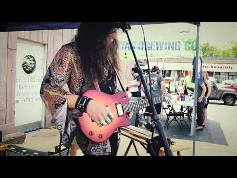Delta Blues Slide Guitar On Folding Guitar