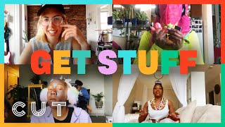 3 Sisters Play Live Scavenger Hunt Game Show | Get Stuff