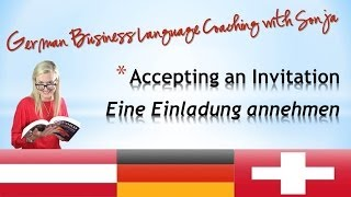 accepting an invitation german
