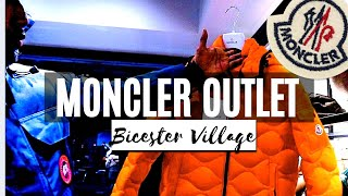 MONCLER OUTLET AT BICESTOR VILLAGE | STORE TOUR & PRICE CHECK