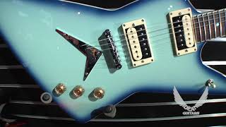 NAMM 2018 Dean Guitars--Blue Burst Series