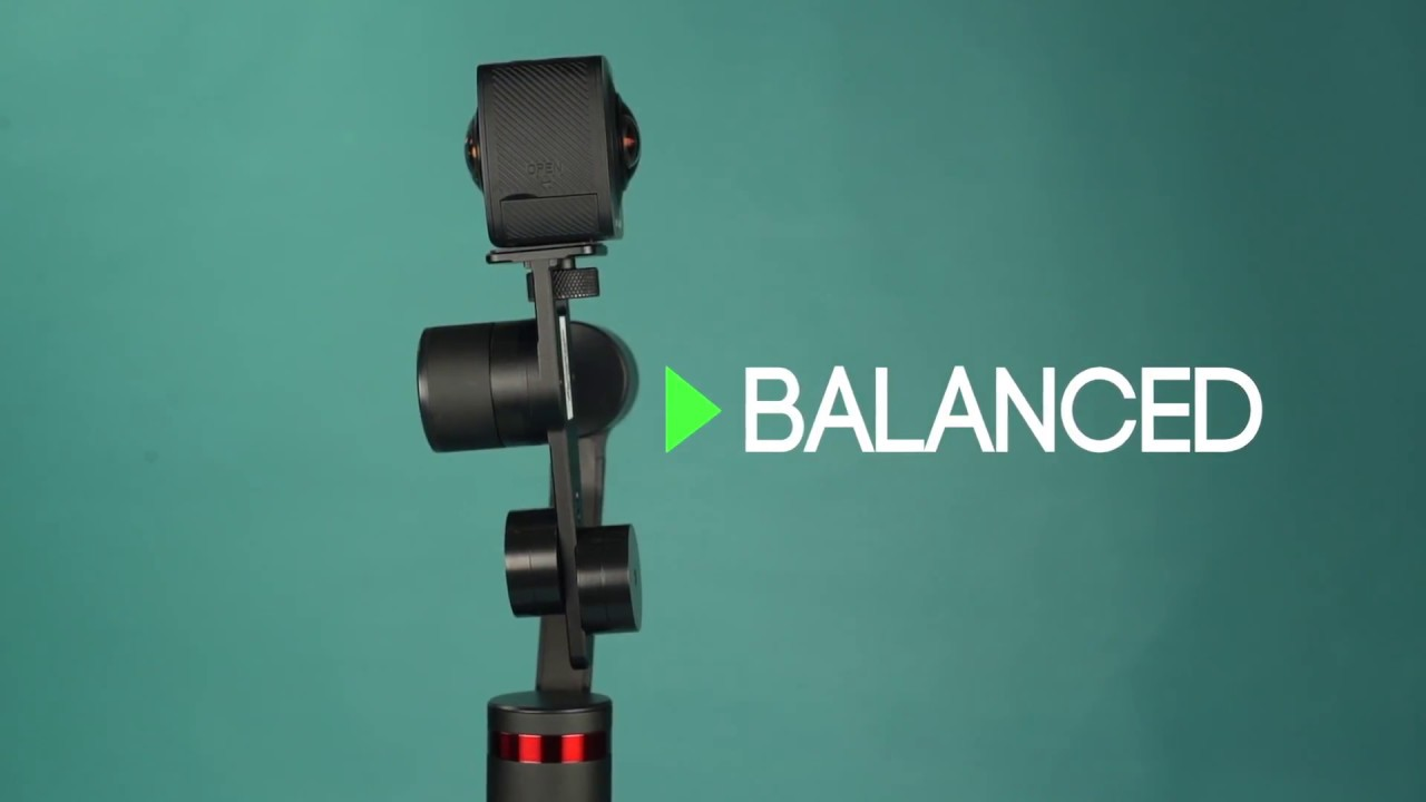 Balancing the All Viewer 360 with the MOZA Guru 360° Camera Stabilizer