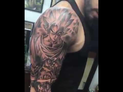 tatuajes goku
