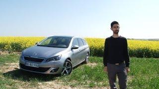 Peugeot 308 SW 2014 (1.2 turbo benzina 3 cilindri)   Prova su strada