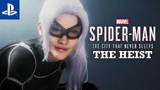 BLACK CAT POWRACAMarvel's Spider-Man: The City That Never Sleeps #1 | PS4 | Gameplay | THE HEIST |